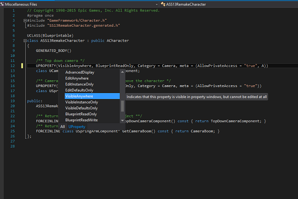 UE4 Intellisense - Visual Studio Marketplace